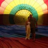 Let balónom - 23. 7. 2010